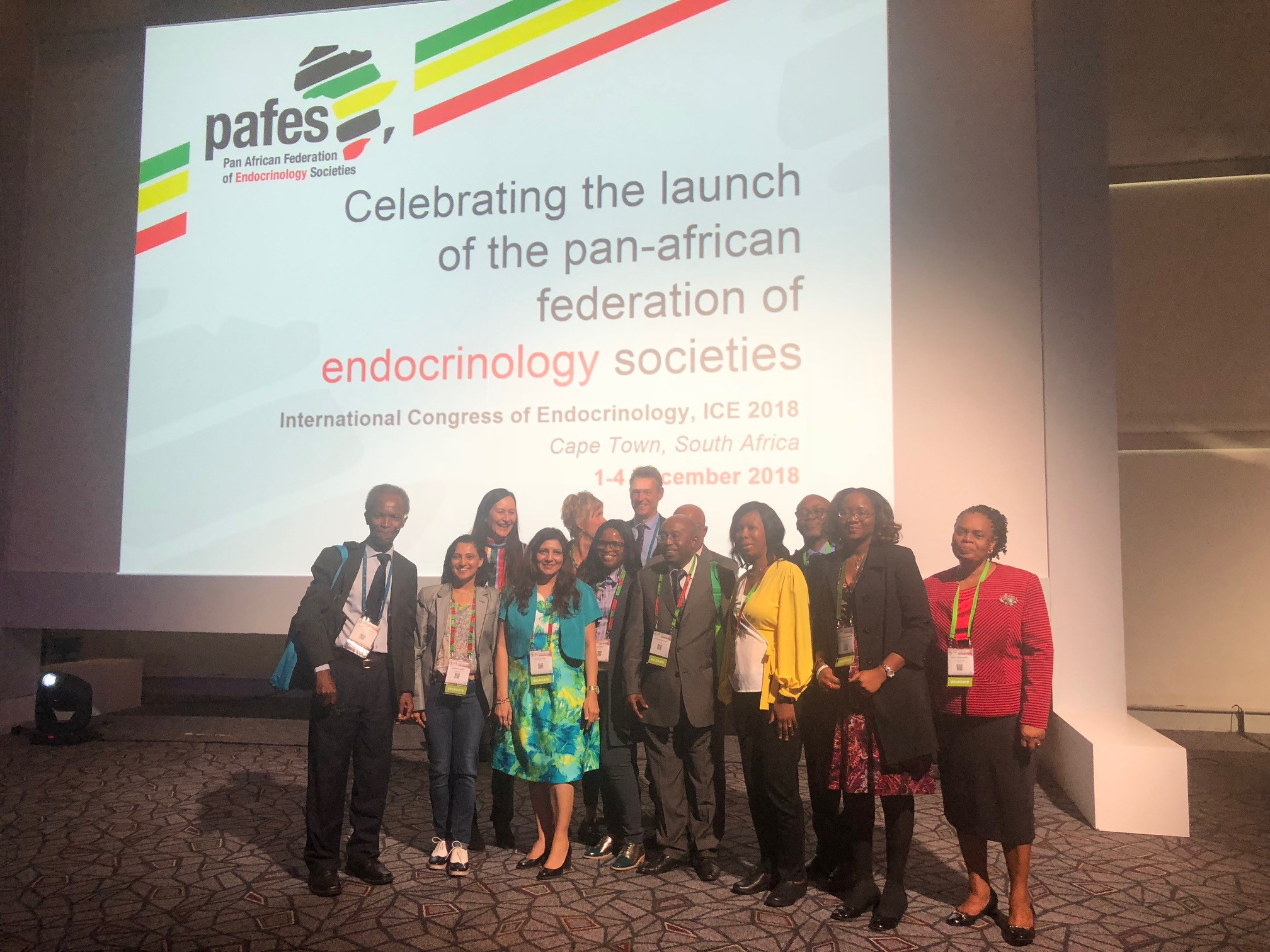 ICE 2018 marks the launch of the Pan African Federation of Endocrine Societies (PAFES)