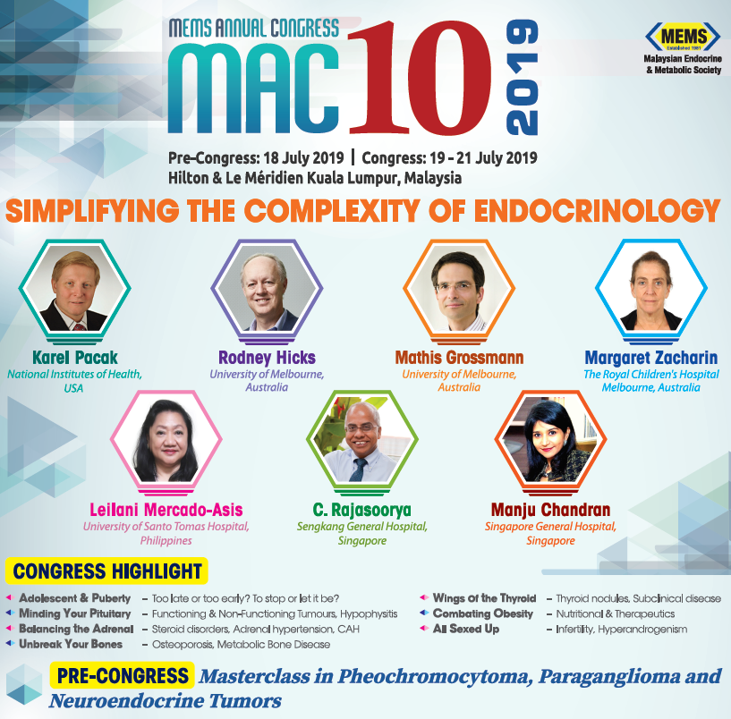 10th Malaysian Endocrine and Metabolic Society (MEMS) Annual