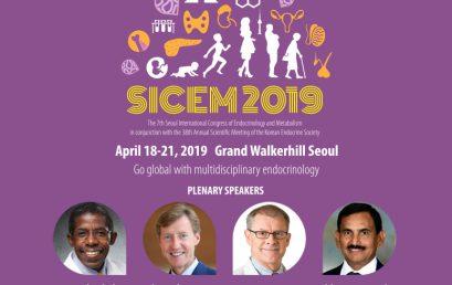 SICEM 2019 – 7th Seoul International Congress of Endocrinology and Metabolism