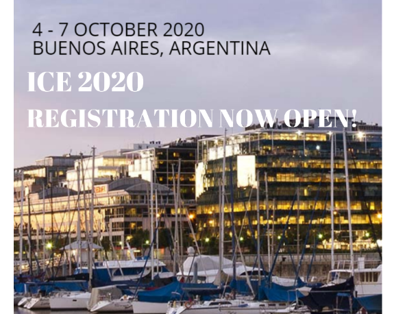 Registration for ICE 2020 – now OPEN! Learn more!
