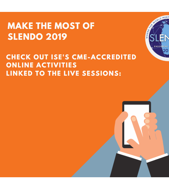 Make the most of SLENDO 2019! Check out ISE pre-congress online activities!
