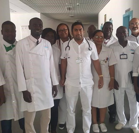 Supporting the development of endocrinology in Mozambique