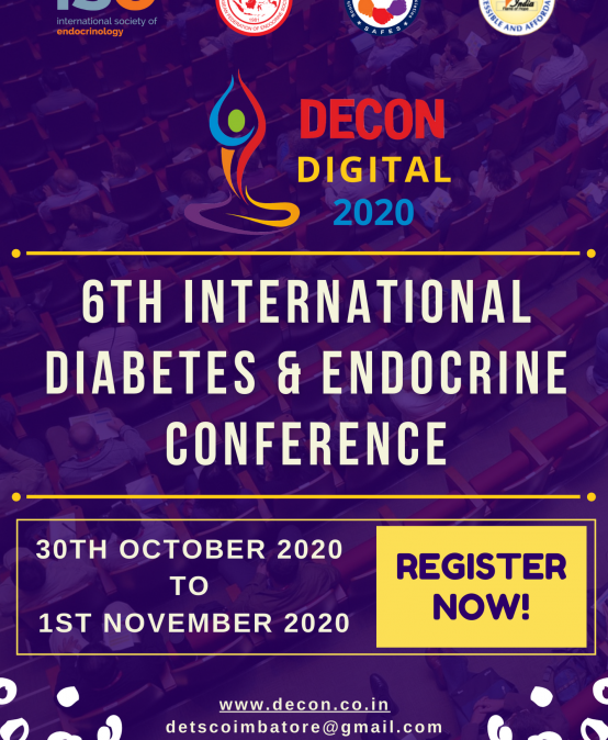 6th International Diabetes and Endocrine Conference (DECON 2020) – Online