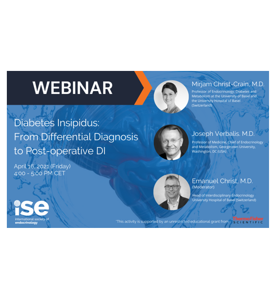 Webinar: Diabetes Insipidus – from Differential Diagnosis to Post-operative DI