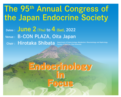 The 95th Annual Congress of the Japan Endocrine Society